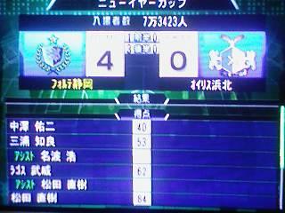 ○ 4−0 オイリス浜北 ニューイヤーカップ(24-2)